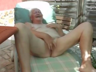 Sensational Jill Off For Old young woman