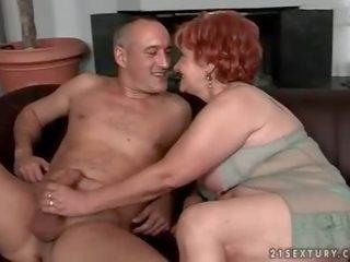 Hot grandmother videos