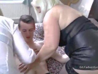 trójka tłuste porno azjatycki seks cowgirl