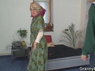 nagymama szopás csövek